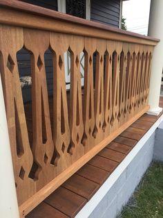 Paint Furniture, Cool Furniture, Porch Balusters, Bahay Kubo, Diy Swing, Log Home Interiors, Church Design, Backyard, Patio