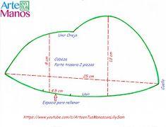 Arte en Tus Manos con Lili y Sam: Gnomo Dulcero Navideño Paso a Paso Line Chart, Diagram, Diy, Water, Fabric Dolls, Handmade Crafts, Christmas Applique, Fitted Sheets, How To Make