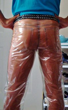 Pvc Trousers, Latex, Pvc Raincoat, Plastic Pants, Hot Pants, Overalls, Shorts, Leather Pants, Style Inspiration