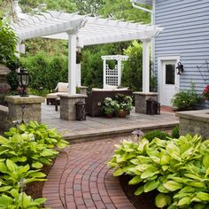 Wheaton Residence - traditional - patio - chicago - Grant and Power Landscaping