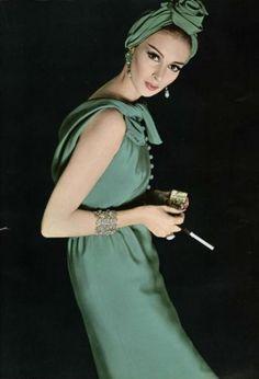 Wilhelmina Cooper, 1962 (L'Officiel)