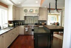 Küche Laminat verlegen Boden rot braune Farbe | homes | Pinterest ...