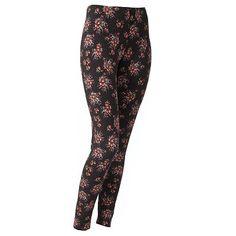 LC Lauren Conrad Floral Leggings