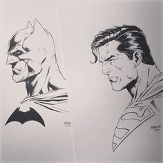Batman and Superman by Jason Fabok