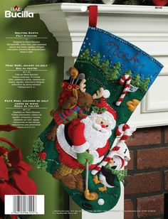 Image result for bucilla stocking kits