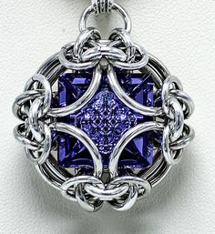 Galaxy Visions Chainmaille Pendant Tutorial Advanced