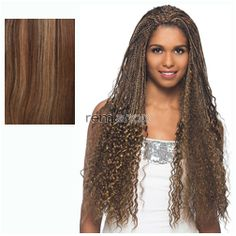 Vivica Fox Express Wig Dazzle  - Color FS4/30 - Synthetic Half Wig