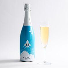 <ANAオリジナル>HIKOUKI CAVA(飛行機カヴァ)【2013】(白スパークリングワイン)
