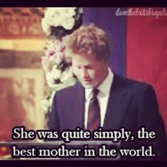 Prince Harry's.  Feelings for His Mother.
