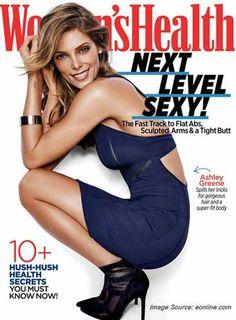 Ashley Greene Reveals Her Guilty Pleasures to the Women's Health Magazine