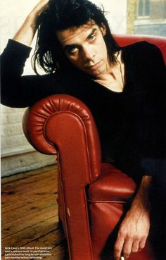 The effortless beauty of Mr. Nick CAVE.