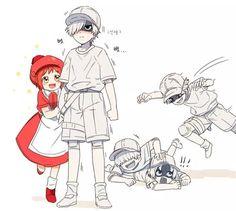wbc x rbc cells at work & rbc x wbc . rbc x wbc comic . rbc x wbc anime . rbc x wbc family . wbc x rbc lemon . hataraku saibou wbc x rbc . wbc x rbc cells at work . rbc and wbc Otaku Anime, Me Anime, Fanarts Anime, Anime Kawaii, I Love Anime, Manga Anime, Chibi, Desenhos Love, Red Blood Cells