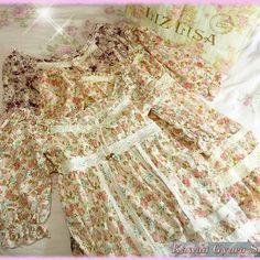 Liz lisa floral lace dress (nwot)
