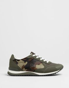 :CAMOUFLAGE JOGGING SHOES