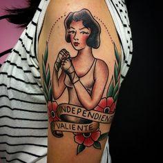 Analogic Love: Inspiração Old School nas tatuagens do estúdio brasileiro http://followthecolours.com.br/tattoo-friday/inspiracao-old-school-nas-tatuagens-do-estudio-brasileiro-analogic-love/