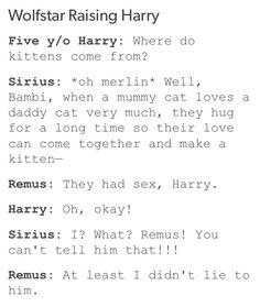 I wasn't expecting that from Remus