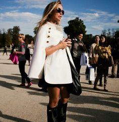 White coat...