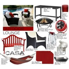Outdoor Lounge With Casa.com