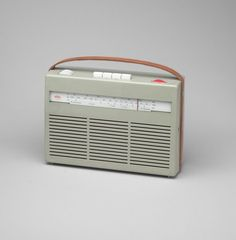 Dieter Rams. Portable Transistor Radio (model No. T 24). 1956