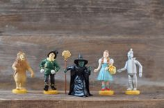 Vintage Wizard of Oz Figurines by Lowes MGM by HouseofSeance