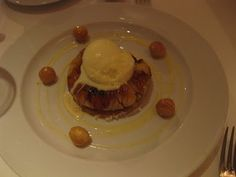 Banana tart at Union Square Cafe, NYC