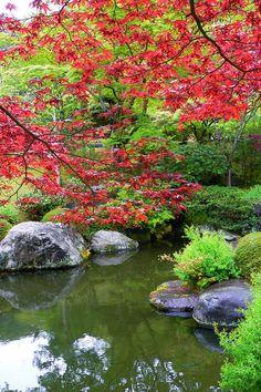 Mimurotoji Garden in Uji, Kyoto, Japan