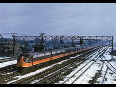 Illinois Central train #53 Southbound city of  Miami March 1964