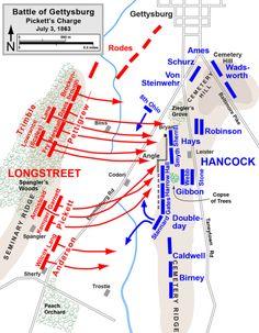 Gettysburg Map, Gettysburg Battlefield, Gettysburg Ghosts, Gettysburg Pennsylvania, Us History, American History, History Education, Teaching History, Pickett's Charge