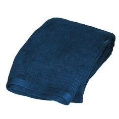 Bamboo Blue Bath Towel from SHOO-FOO, the softness of bamboo, $34 (sale $25.50)