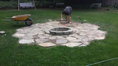 3 Beaming Clever Tips: Fire Pit Cover Modern fall fire pit party.Large Fire Pit How To Build unique fire pit how to build.Large Fire Pit How To Build. Fire Pit Area, Diy Fire Pit, Fire Pit Backyard, Desert Backyard, Backyard Patio, Large Backyard Landscaping, Fire Pit Landscaping, Backyard Ideas, Landscaping Ideas