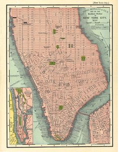 southern manhattan in in 1895 printable digital by artdeco on etsy 400 old maps manhattan digital images