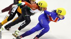 """Britain's short-track skaters have """"a lot of work to do"""" after their opening Olympic qualifier, according to performance director Stuart Horsepool."""