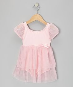 Loving this Body Wrappers Baby Doll Skirted Leotard - Toddler & Girls on #zulily! #zulilyfinds