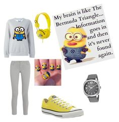 """Minions"" by princess-adjei on Polyvore"