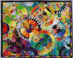 """Mixtura"" quilt by Lousia Smith. Excellent!"