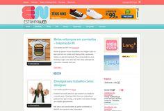 Blog para comunidade de designers de estamparia EstampaWeb.