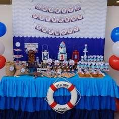 Nautical party! Cute theme.