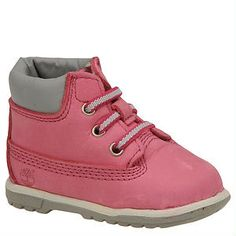 Absolutely adorable! Baby Timberland booties for $44.95 from Shoemall | Free shipping