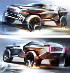 GMC All Terrain Concept Design Renders by Li-Cheng Hsu
