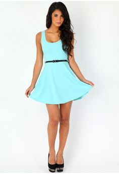 summer belted dress