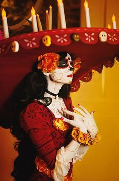 Land of the Remembered - Cat(Lady Ava) La muerte Cosplay Photo - WorldCosplay