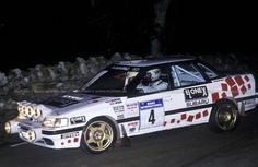 Richard Burns Youngest British Champion driving a legacy rs ra 1993