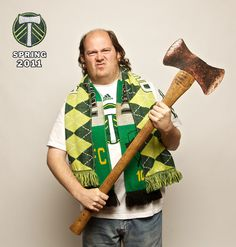 We are the Timbers. #1 Fan!