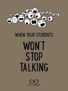 What they don't teach us in education courses is just how much students talk, and how hard it can be to quiet them down. Helpful classroom management tips! Classroom Discipline, Classroom Management Strategies, Classroom Procedures, Teaching Strategies, Classroom Consequences, Behaviour Management, Instructional Strategies, Middle School Classroom, Music Classroom