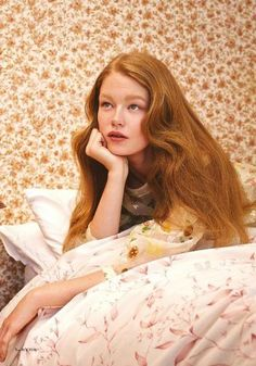 Model: Hollie May Saker | Photographer: Aitken Jolly - for Glass Magazine Summer 2015 #beauty #fashion #editorial #hair #bed