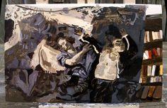Margaux Williamson, Painting, study