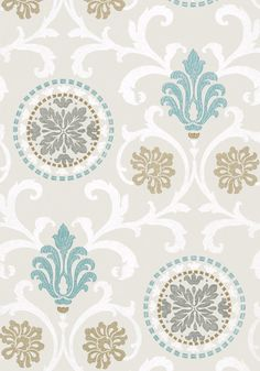 Papel pintado arboles modernos turquesa y marron estilo for Papel pintado salon marron
