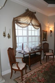 Creative Window Treatments Work Sample Gallery - Arched WindowVisit our website to learn more about us and if you like our work, please like our Facebook page at https://www.facebook.com/mycreativewindow/