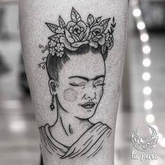 Frida Kahlo Tattoo by tiaperla_tattoo