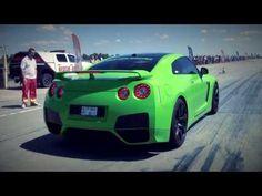 Nissan GT-R 900 HP Vs. Toyota Corolla TS Drag Race HD